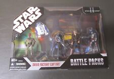 Droid Factory Capture 2007 STAR WARS 30th Anniversary Battle Pack Packs MIB