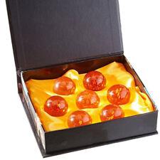 Dragon Ball Z Stars Crystal Balls Collection 7 Pc Set w/ Gift Box Small 4.3cm
