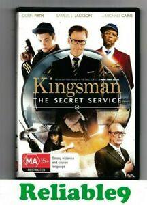 Kingsman The secret service DVD+Special features New not sealed R4- 2010 Fox AUS