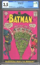 Batman #171 CGC 3.5 (1965) 1st silver age Riddler - Great looking comic (RARE)