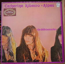 "CATHERINE RIBEIRO + ALPES ""LA DEBOUSSOLE""  FRENCH LP PHILIPS 1980"