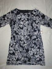 NEW! $100 Jessica Howard 24W plus size womens dress white black print lined