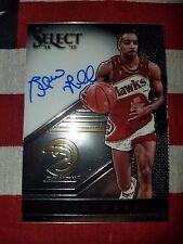 2014-15 Panini Select Signatures #S-SW Spud Webb Atlanta Hawks Autograph 171/199