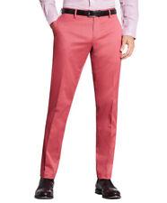 Brooks Brothers Mens Brick Red Clark Fit Cotton Stretch Pants  36W x 32L 8560-3
