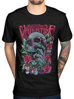 Official Bullet For My Valentine Skull Red Eyes T-Shirt Men Band Merch AxeWound