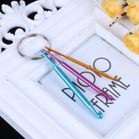 3pcs Mixed Aluminum Crochet Hook Knit Knitting Needle Weave Yarn DIY Tool Set