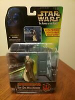 NIB Star Wars POTF Power of Force Electronic Power F/X Obi-Wan Kenobi Kenner