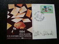 FRANCE - carte 15/10/1994 (saint-etienne fete du livre) (cy79) french