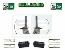 """3.5"""" / 3"""" inch Spindle Block LIFT Kit, fits 2007 - 2018 Toyota Tundra 2WD"""