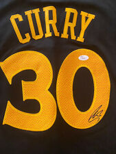 STEPHEN STEPH CURRY SIGNED Chinese Warriors JERSEY AUTO JSA