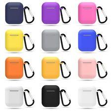 Silikon Schutzhülle für Apple AirPods TPU Abdeckung Hangbox Zubehör mehrfarbig