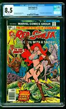 Red Sonja 1 CGC 8.5 VF+ Roy Thomas story Frank Thorne cover art Marvel 1977