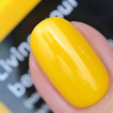 NAILS INC LIVING YOUR BEST LIFE Polish & INC.REDIBLE Gen Yellow Jelly Lip Balm