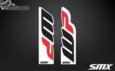 SMX motocross fork stickers decals for WP forks KTM motorcycles upper fork FE