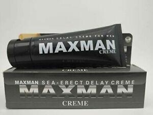 ⭐️⭐️⭐️⭐️⭐️ WOW! Premium MaxMan Verzögerungscreme Penisvergrößerung 50 ml ****