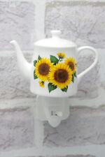 Sunflower Night Light Plug-in Coffee Pot On/Off Switch Ceramic Electric 5010