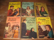 Lot de 6 Livres de poche Collection CŒURS
