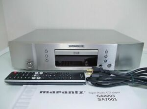 Marantz SA7003 SACD Player Power Supply Voltage 100V W/Remote controller Cable