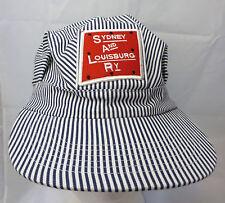 Sydney and Louisburg Railway train engineer cap hat adjustable snapback