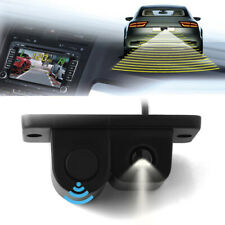 Car SUV Reverse Backup Parking Rear View Camera With Parking Radar Sensor 2-in-1