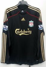 Liverpool Away shirt 2009 2010 Large BNWT 11 Riera Long Sleeve Premier League