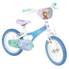 """Disney Frozen Sisters Forever Girls Kids 16"""" Bike - BMX Style Handlebar *B NEW*"""