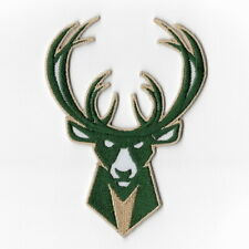 NBA Milwaukee Bucks Iron on Patches Embroidered Badge Patch Applique Sew Emblem