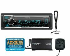 Kenwood KMM-BT325U Digital Media Receiver SiriusXM SXV300 Sat Radio Tuner