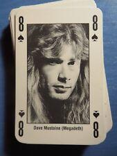 KERRANG CARD POKER: DAVE MUSTAINE (MEGADETH)