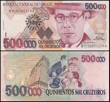 Brazil 500,000 (500000) Cruzeiros, 1993, P-239a, UNC