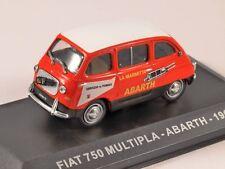 Fiat 750 Multipla Abarth Trade Van 1960 Cars, IXO Altaya  1/43  Diecast  NEW!