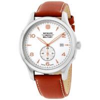 Wenger Quartz Movement Silver Dial Men's Watch 79301C