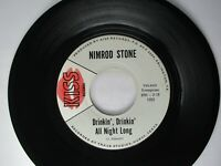 Nimrod Stone ‎Wine, Wine, Wine / Drinkin', Drinkin' All Night Long 45 Kiss