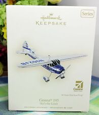 Hallmark Sky's the Limit Cessna 195 ornament 2007  #11 in series
