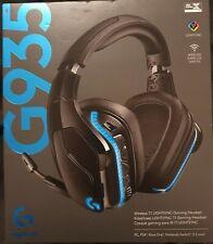 Logitech G935 Wireless 7.1 Surround Gaming headset - Black / Blue