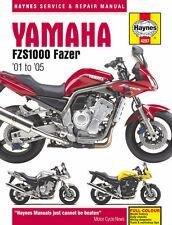 Haynes Manual 4287 - Yamaha FZS1000 Fazer (01 - 05) workshop, service, repair