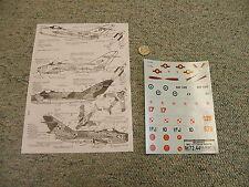 Decals Carpena  decals 1/72 72-44 Mig Mania Mig-17    M157