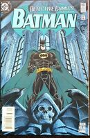 DETECTIVE COMICS #682 NM TROIKA Part 3 KGBEAST ROMANA Embossed DC Comics 1995