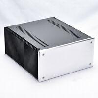 BZ2412A All Aluminum Class A Power Amplifier Housing Audio Amp Chassis DIY Case
