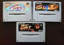 Super Famicom SFC Super Street Fighter Turbo II 2 Japan SNES games US Seller