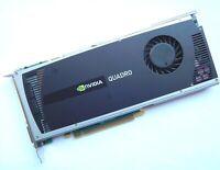 NVIDIA QUADRO 4000 Silver 2GB GDDR5 Graphic Video Card HP 616076-001 Dell 038XNM