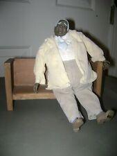 6 Roman Inc. 1996 RR African-American Black Church Americana Figurines Dolls Set