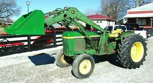 John Deere 2440 Tractor & Loader New Rubber- *FREE 1000 MILE DELIVERY FROM KY