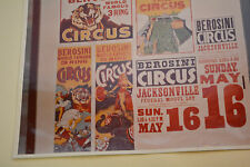 "PHOTO COLLAGE OF BEROSINI 3 RING CIRCUS PHOTO 8"" X 10"""