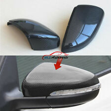 Carbon Fiber For VW Golf 6 MK6 R GTI VI Side Rearview Back Mirror Cover Replace