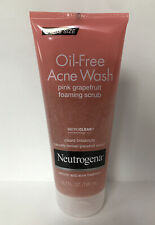 Neutrogena Pink Grapefruit Foaming Scrub Oil-Free Acne Wash-6.7oz.