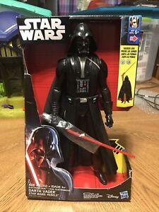 Star Wars Rebels Electronic Duel Darth Vader 12-Inch Action Figure Lights Sounds