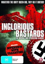 INGLORIOUS BASTARDS DVD=THE ORIGINAL WAR-SPLOITATION CLASSIC=REGION 4=NEW/SEALED