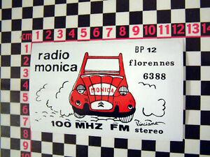 Vintage French Radio Sticker - Classic Car Sticker France Retro Vintage