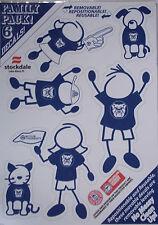 Butler Bulldogs Family Decal Sticker Set